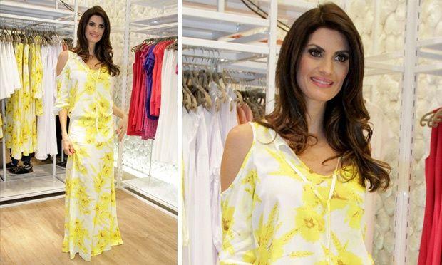 Isabella Fiorentino lança coleção de alto verão para a Malwee