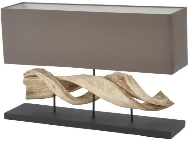 Natural Wood Table Lamp Twisted Driftwood Lamp Driftwood Table Wooden Lamps Design Driftwood Lamp