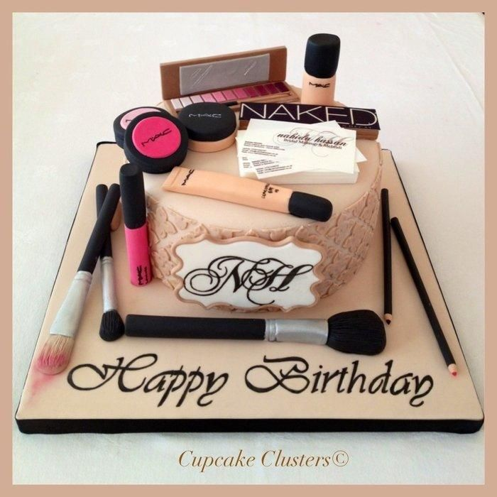 Image result for happy birthday make up kit pics