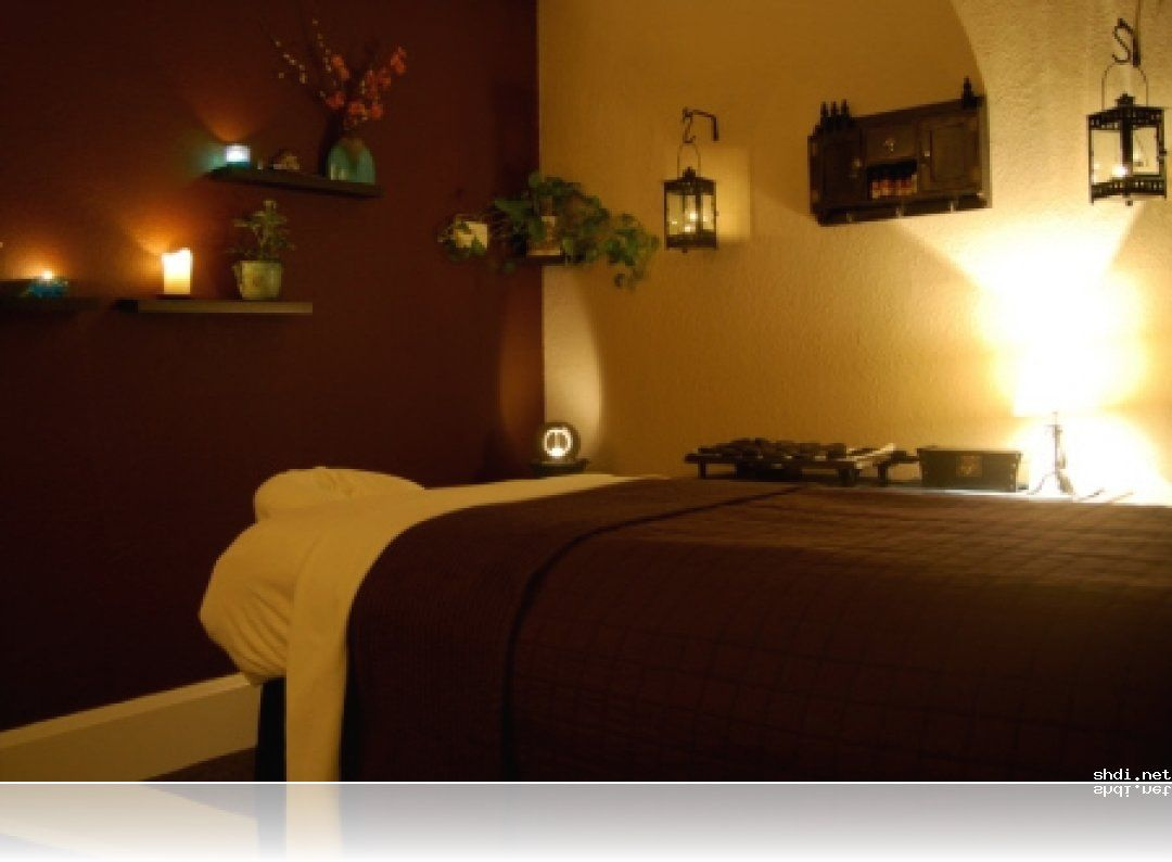massage therapy room design ideas