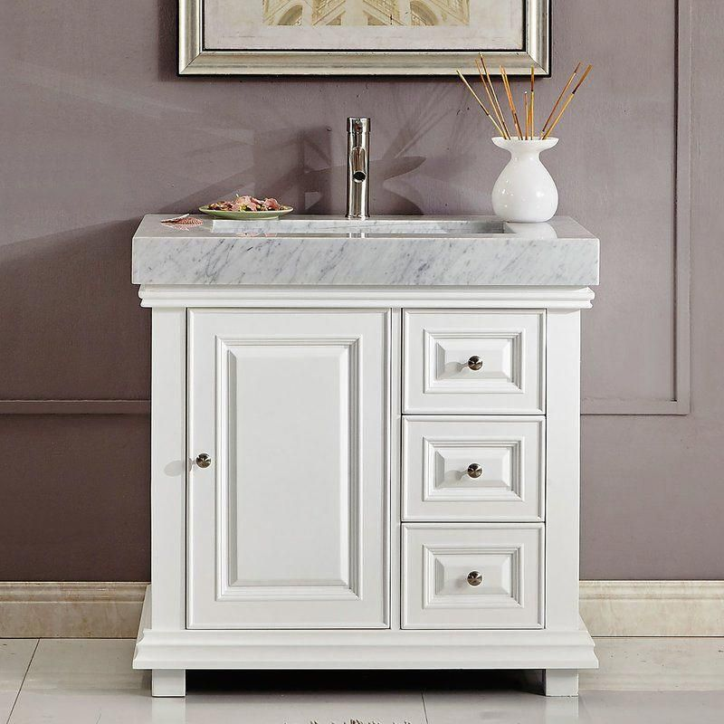 Janne Contemporary 36 Single Bathroom Vanity Set
