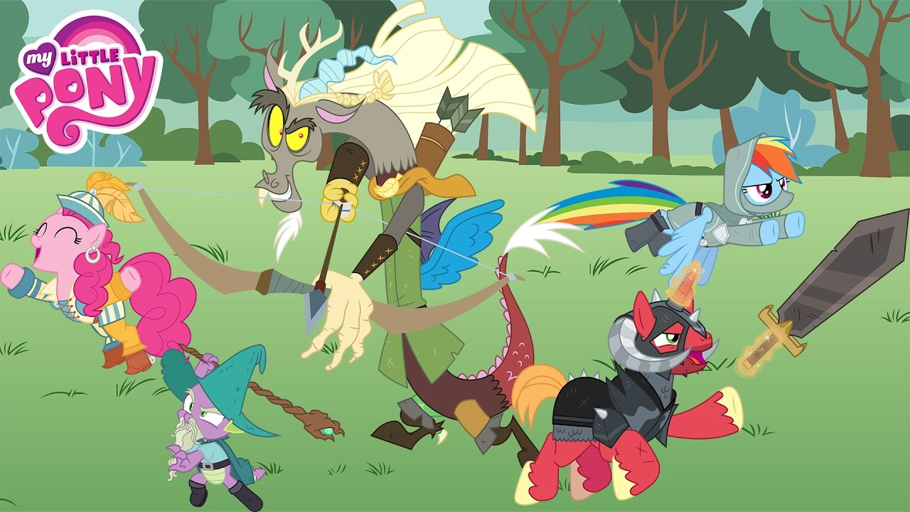 My Little Pony and Discord Epic Heroes - Lord of The Rings Costume