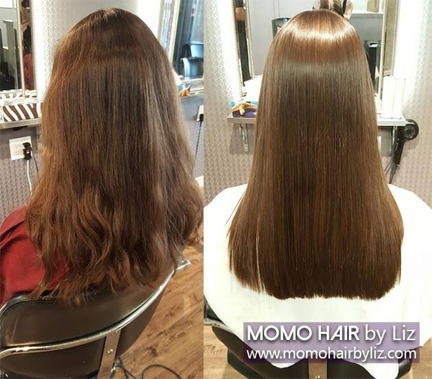 Jelzstrait Salon Thermal Reconditioning Hair Rebonding Anese Straightening