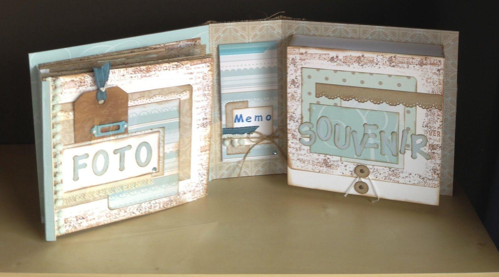 Scraps & Things: Mini album & souvenirbox