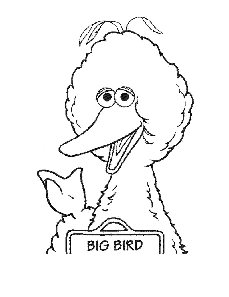 Printable Big Bird Coloring Pages Printable Shelter Bird Coloring Pages Coloring Pages Free Coloring Pages
