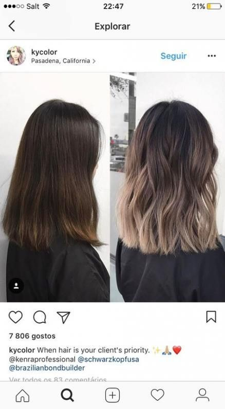 Best Hair Color Ideas For Brunette Babylights Characters 38+ Ideas, #babylights #balayagehairsh …