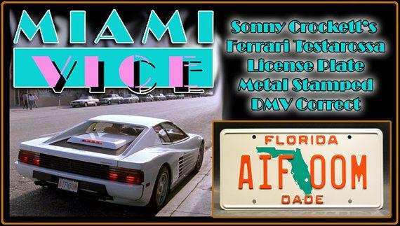 Miami Vice Sonny Crockett S Ferrari Testarossa Florida Aif 00m