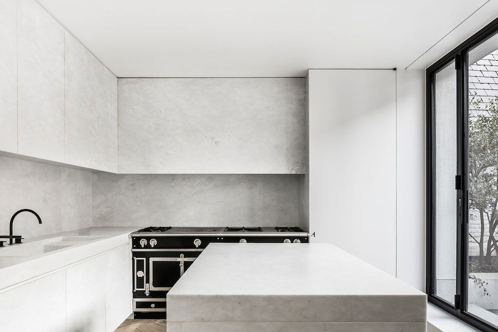 Marble In Antwerpen : Mk house antwerp by nicolas schuybroek architects marble interiors
