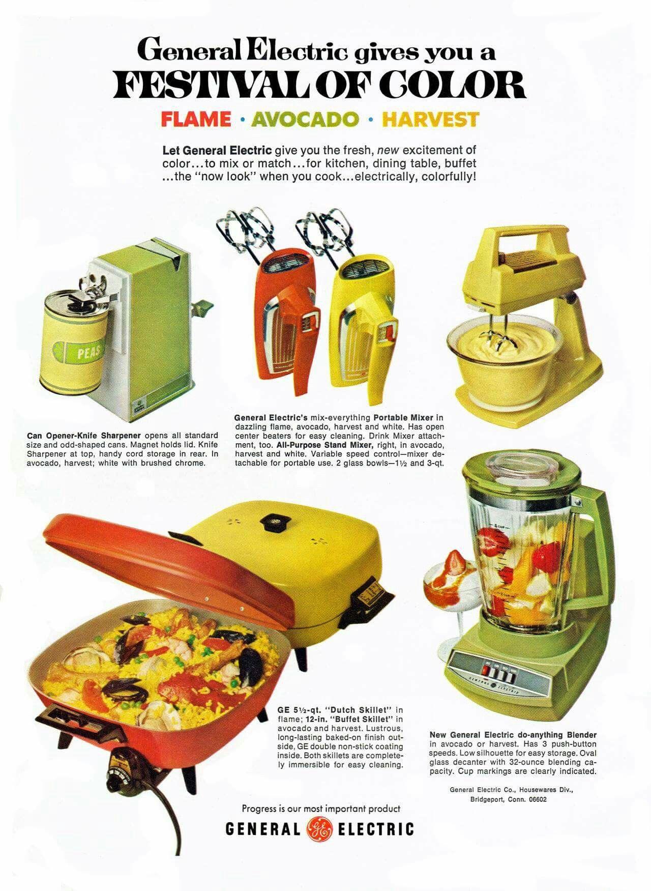 1970s Vintage Ge Small Kitchen Appliances Ad Vintage Kitchen Appliances Vintage Ads Vintage Appliances