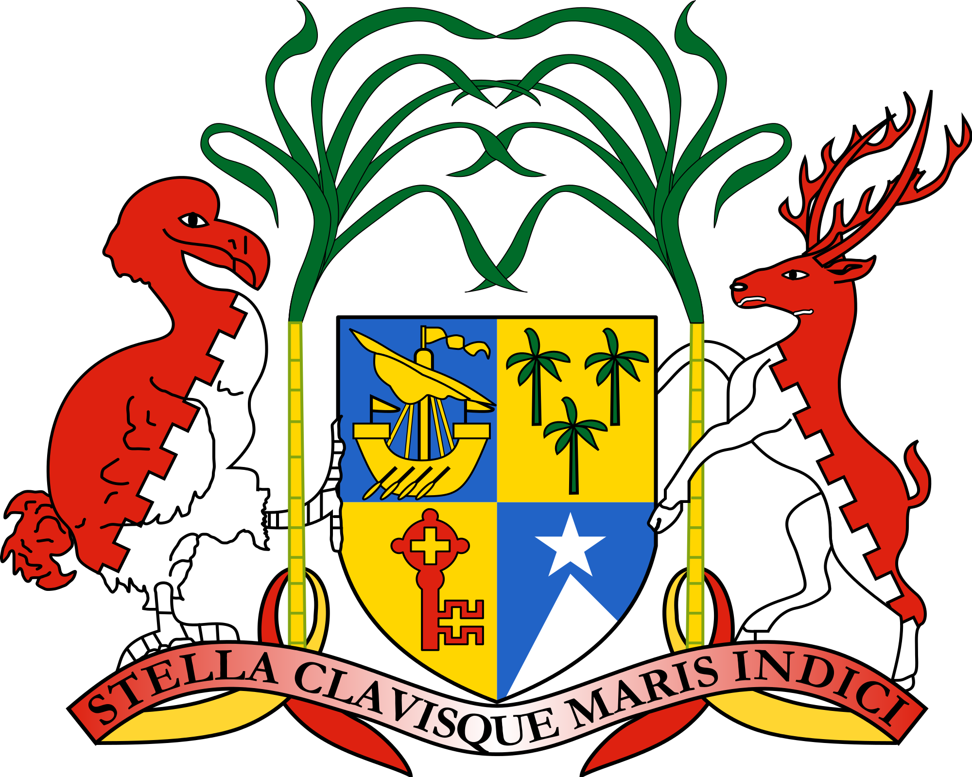 Mauritius | African Coat of Arms | Pinterest