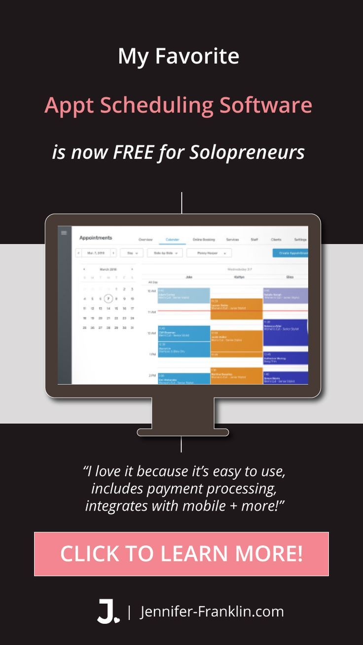 Best FREE Appointment Scheduling Software for Solopreneurs