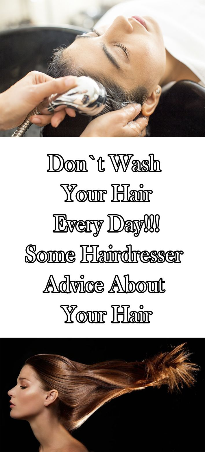 Hairdressers advice