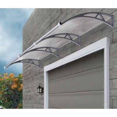 Clear Window Door Canopy Awning W Gutter 300x90cm | Buy Door U0026 Window  Awnings