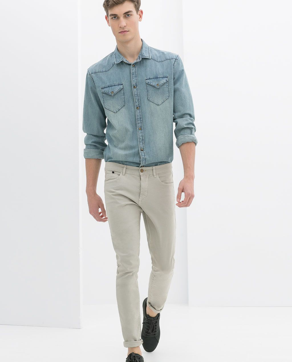 Image 1 Of 5 Pocket Trousers From Zara Inspiration For Menwears