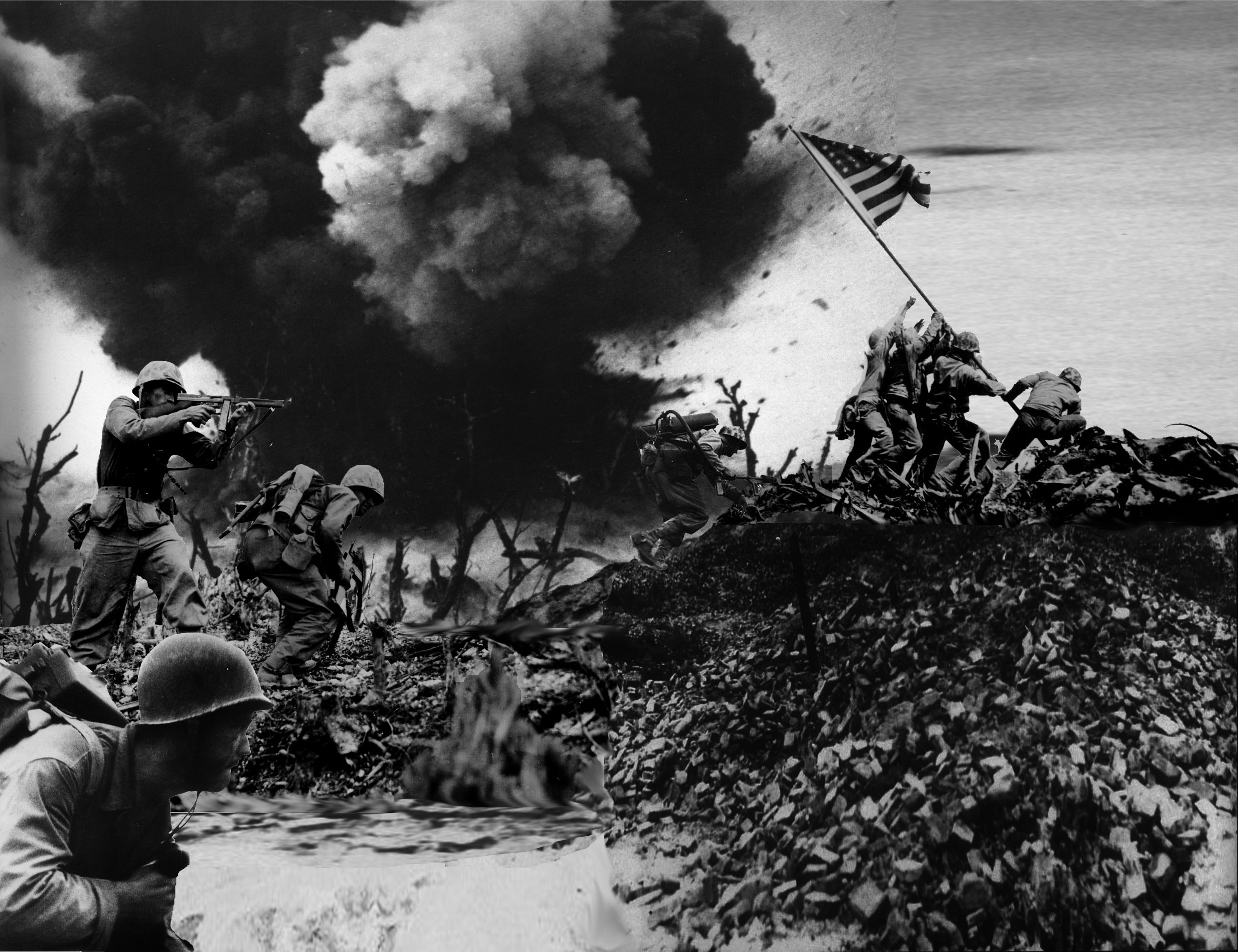 the battle of iwo jima essay Thus, the reason why the battle of iwo jima was important is that it exposed and reinforced the fact that in order to end the war, the japanese would have to be defeated in a continual stream of island-hopping campaigns against a foe that would die before surrendering.