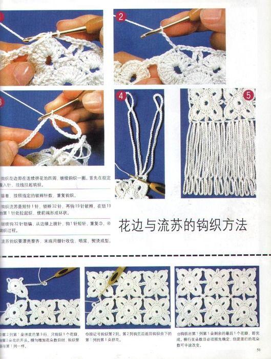 Conectar Flores de Crochet Tutorial - Patrones Crochet   crochet 14 ...