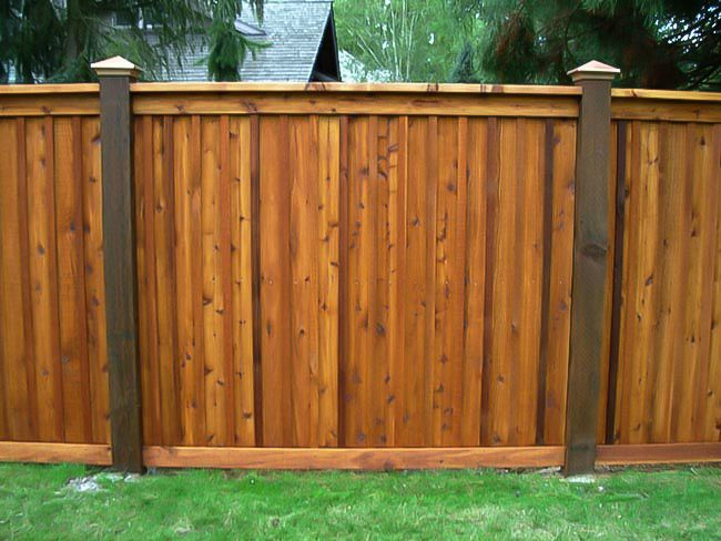 Wood Picket Fence Panels Wood Privacy Fence Wood Fence Design Fence Stain