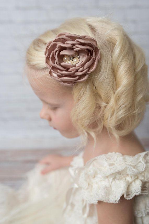 Flower Girl Hair Bows