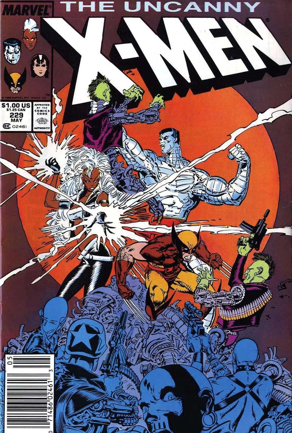 Uncanny X Men Vol 1 229 X Men Marvel Comics Covers Marvel Comics