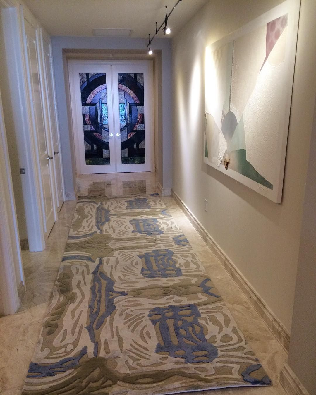 Custom Rug By Bay Harbor Gallery Foxworthy S Interiors Naples Fl