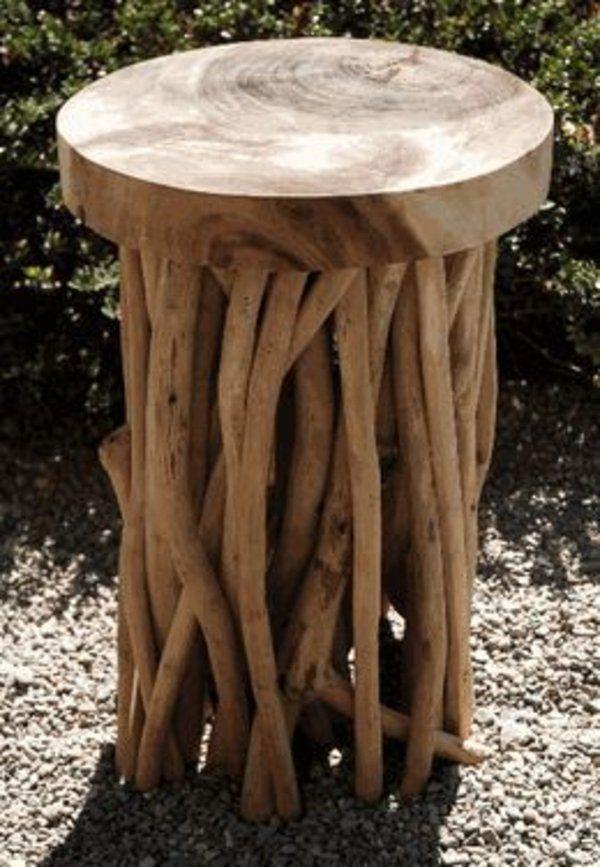 Gut Treibholz Tisch Couchtisch Bauen Rund
