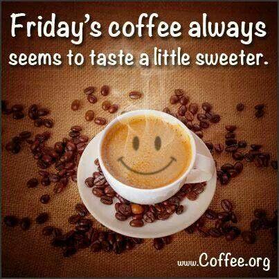 Friday's Coffee