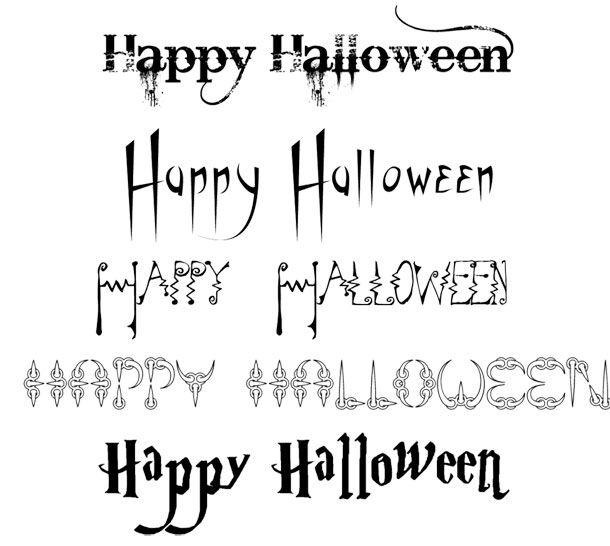 happy_halloween_fonts.jpg | Double,Double, Toil and Trouble, Fire ...