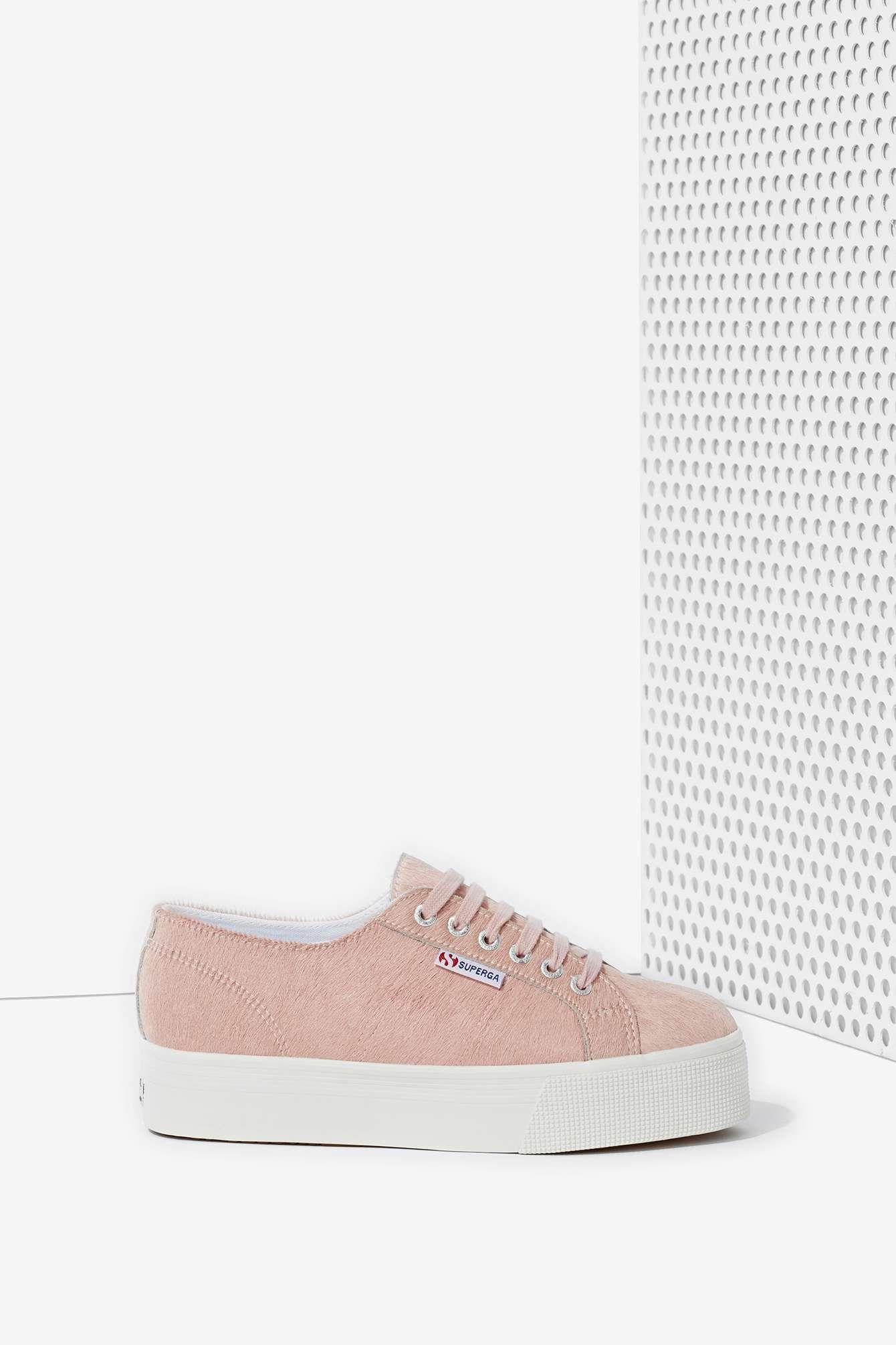 27eec9a6a962 Superga Pony Platform Sneaker   Shop Shoes at Nasty Gal Adidas Zx, Adidas  Gazelle,