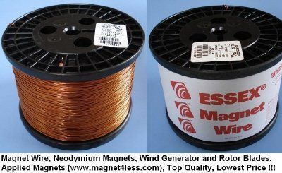 Magnet Wire 14 Awg 11 Lbs By Superior Essex 138 00 In Original Factory Packaging Made And Spooled By Essex Ul Recognized C Magnet Wire Wire Spool Magnets
