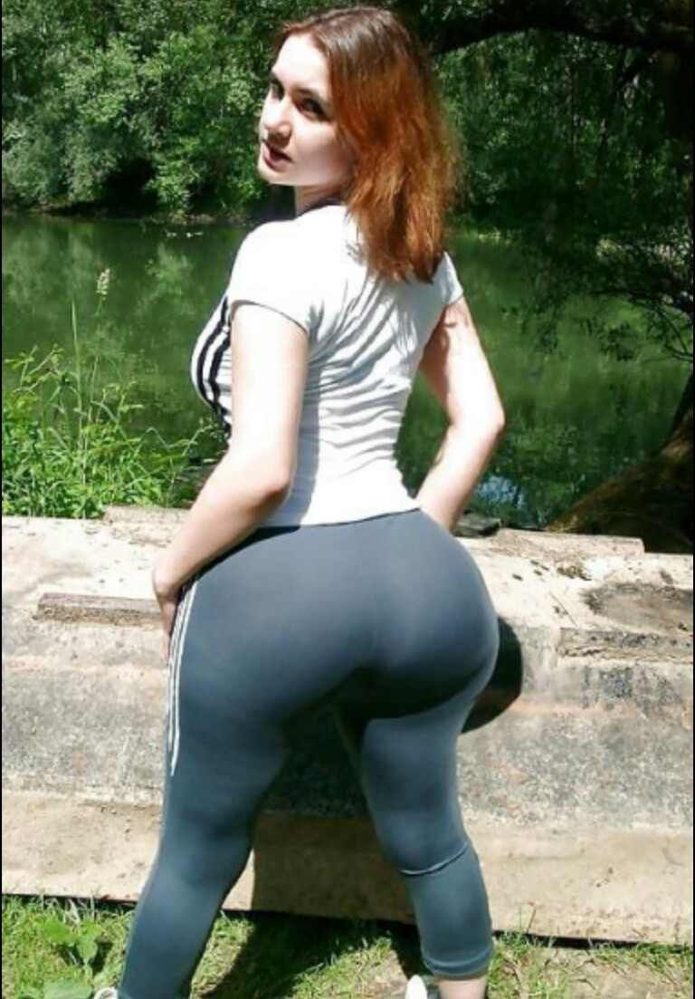 Sexy Thick White Ass