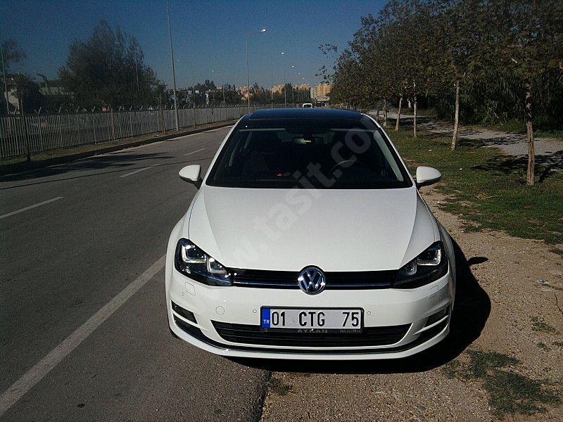 Volkswagen Golf 1 4 Tsi Highline Kisa Sureligine Fiyati Dustu Sahibinden Acil Satiliktir Golf 7 03 Ocak 2014 Trafige Cikisli Volkswagen Golf Volkswagen Golf