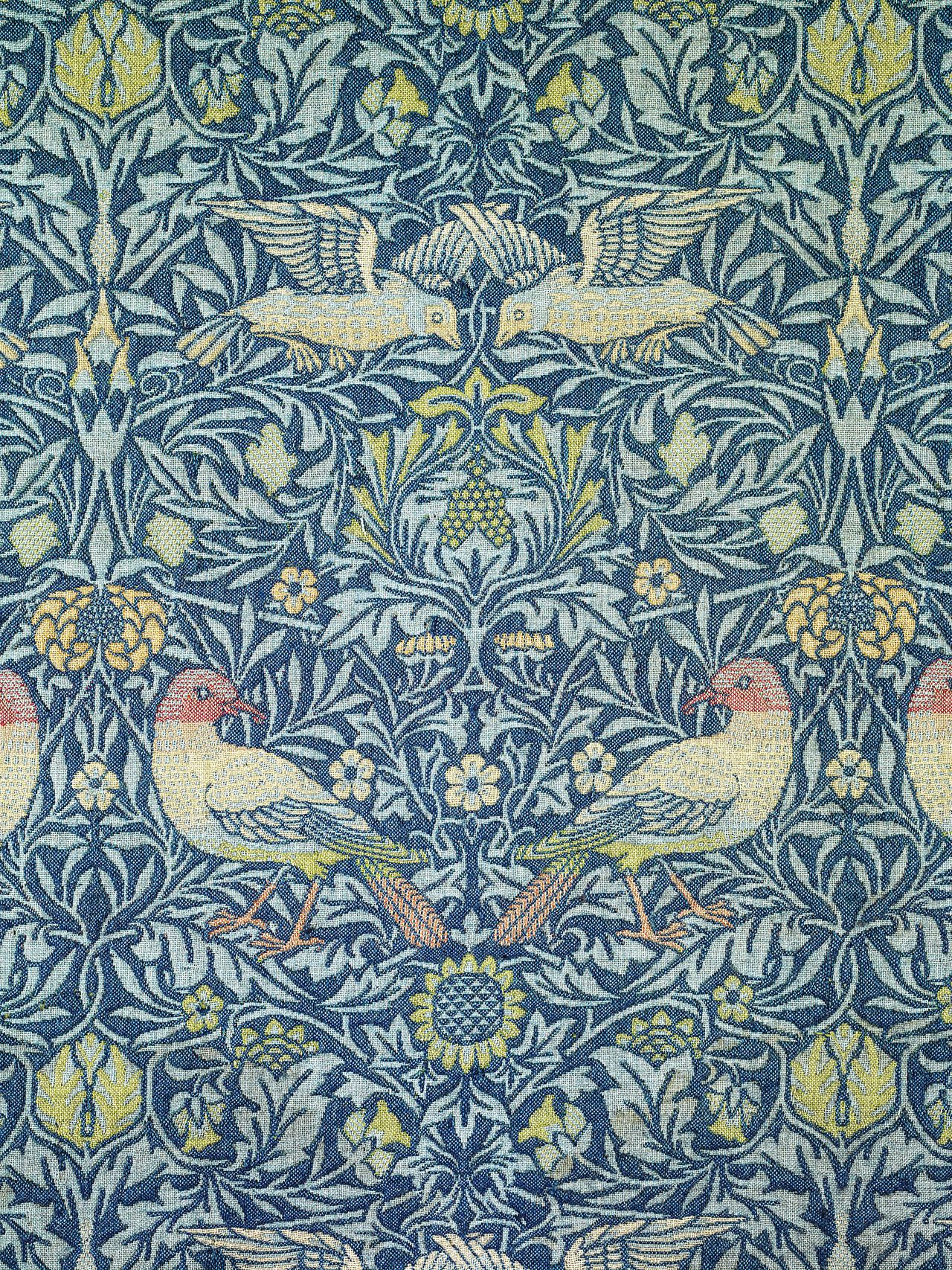 William Morris, Bird, 1878 From the Metropolitan Museum of