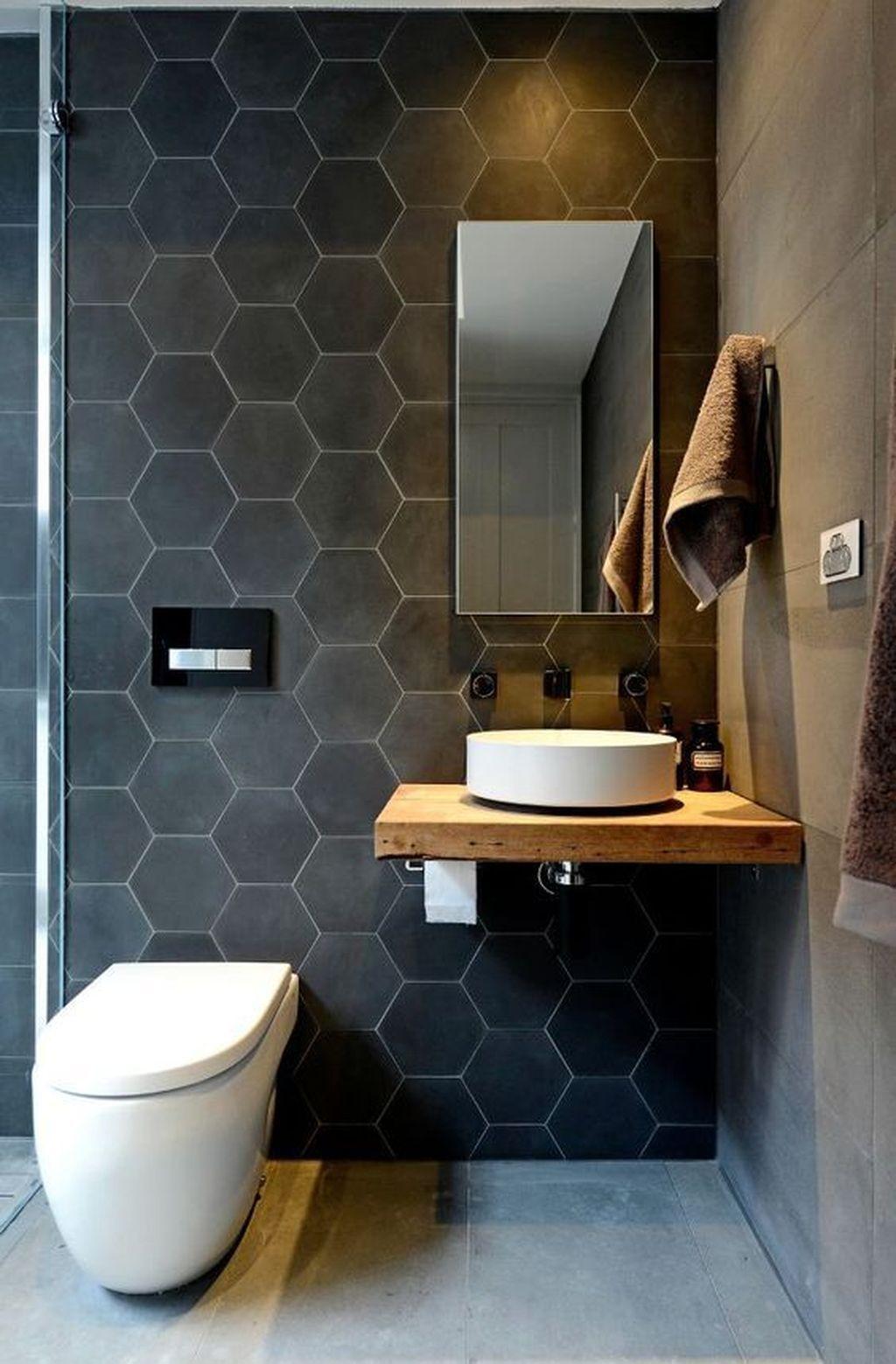38 Cozy Small Office Bathroom Designs Ideas Decor Modern Remodel