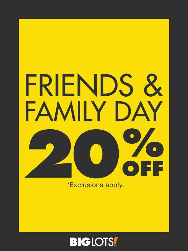 It's back! Enjoy 20 off your entire purchase this weekend