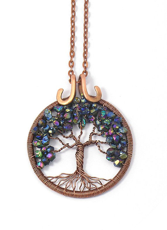 Tree-of-Life Pendant • Wire tree-of-life • Tree of Life Necklace ...