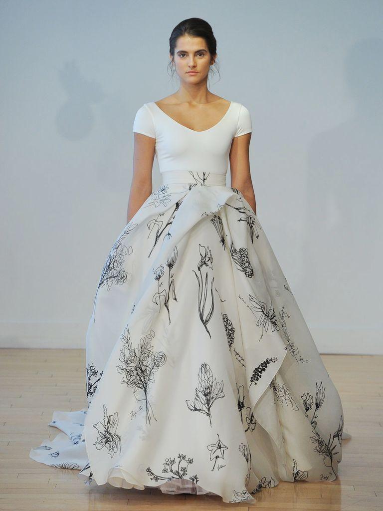 Carol Hannah Fall 2017 Modern, Romantic Draped Gowns