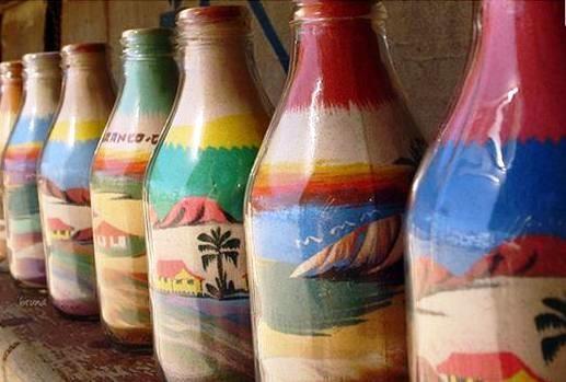 Armario Oficina Segunda Mano ~ artesanato brasileiro Brazil, Pop art and Sand art