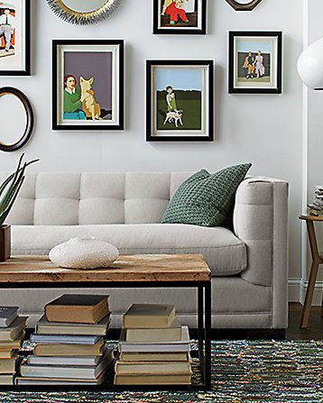 Living Room.  The stitching is tailored and leans towards formal w contemporary twist.