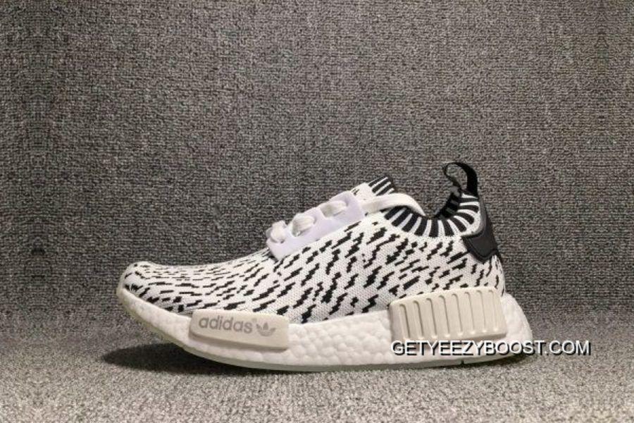 "88104284f Brand New Adidas NMD R1 Primeknit ""Zebra"" BZ0219 Black White ..."