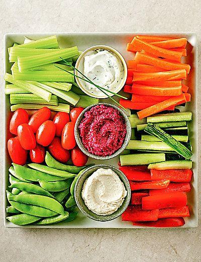 Luxury Crudites Selection Serves 6 8 Picnic Food Picnic Foods