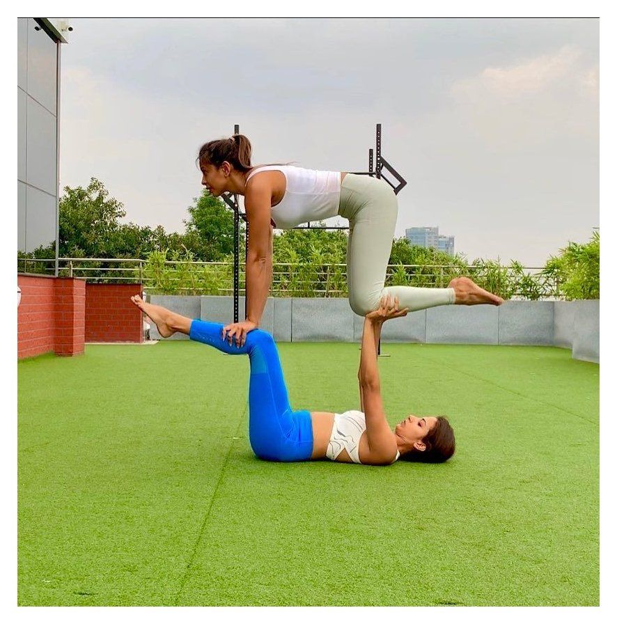 47++ Two person easy yoga poses trends