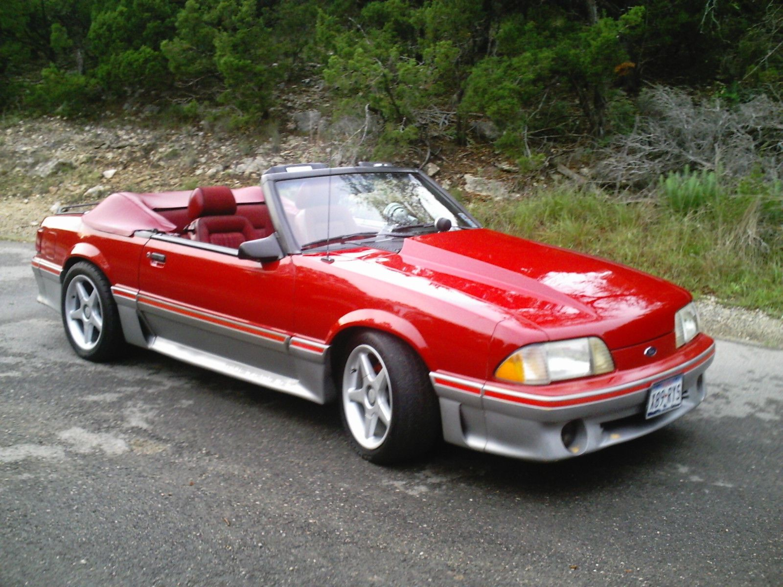 Ebay 1988 Ford Mustang Gt Convertible Highly Modified Ford