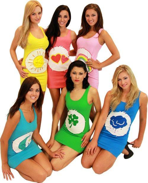 Care Bears Costume Tunic Tank Dress #carebearcostume