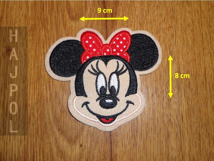 Termo Naszywka Lata Aplikacja Myszka Minnie Glowa Minnie Mouse Minnie Character