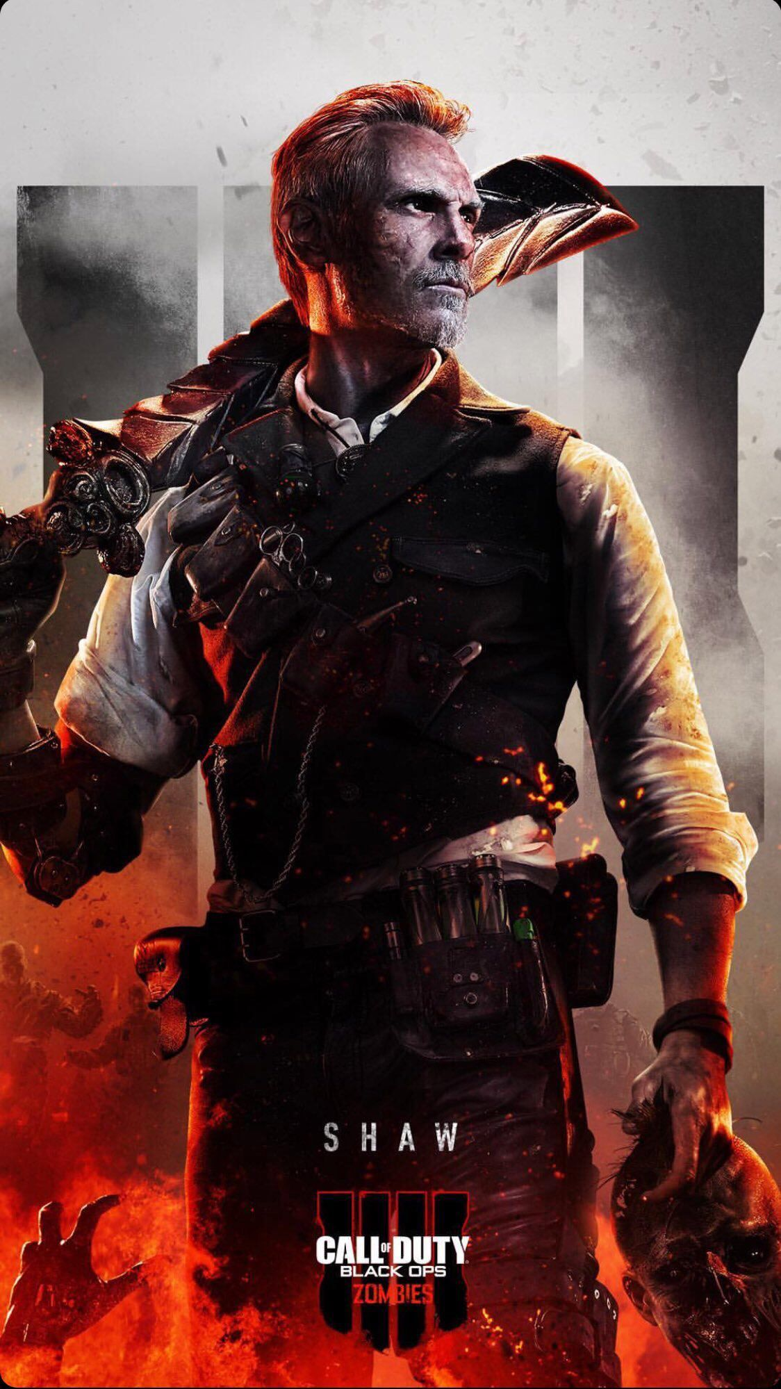 Check Out Black Ops 4 Zombies Phone Wallpapers