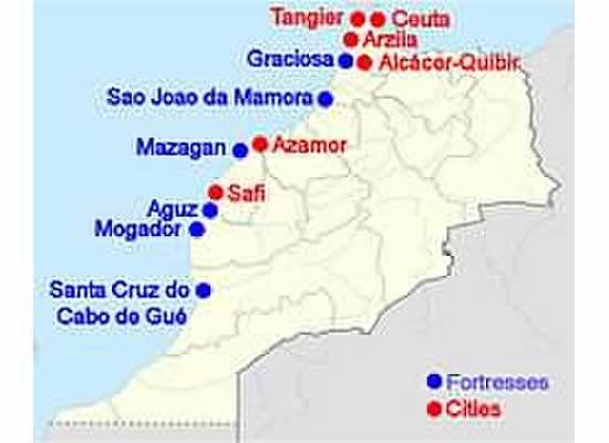 Portuguese possessions in Morocco 1415-1769