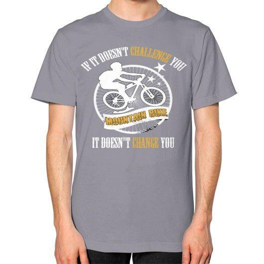 Do you love mountain bike Unisex T-Shirt (on man)