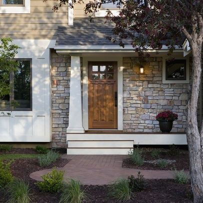 front doors for ranch style homes | Traditional Home 1950s ... on