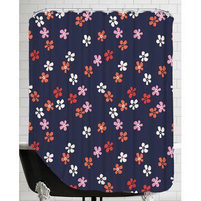 Americanflat Flower Child3 Shower Curtain