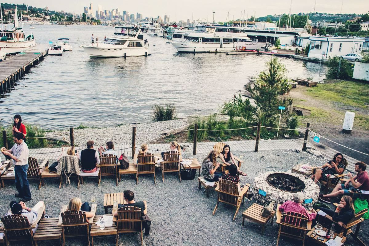 Seattle outdoor bars food network recipes seattle